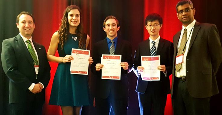 students winning contest