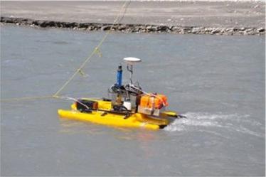 Sontek M9 ADCP and RTK-GPS