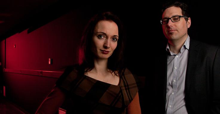 Ksenia Dolgaleva et Jeff Lundeen