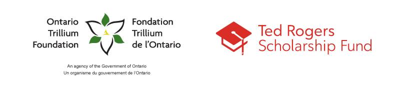 Ontario Trillium Foundation, Ted Rogers Scholarship Fund