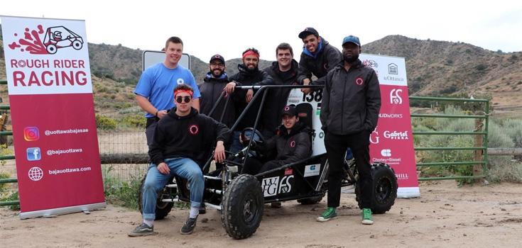 BAJA 2019 team
