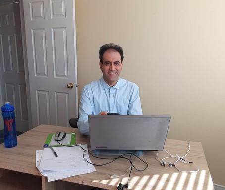 Student Behrooz Abbaszadeh