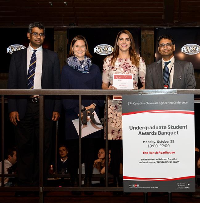 Dr. Uttandaraman, Midia Shikh Hassan Dr. Sarah Creber, and Dr. Simat Uperti.