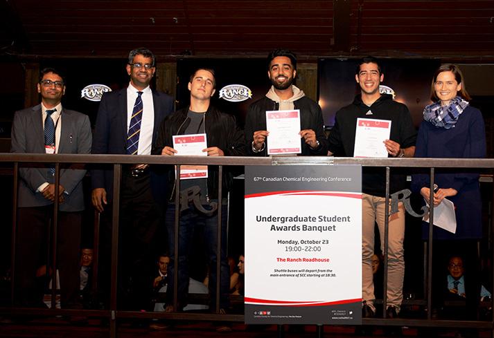 Dr. Simat Uperti, Dr. Uttandaraman, Roch Vaillancourt, Gagandip Grewal, Talal Omar, et Dr. Sarah Creber.