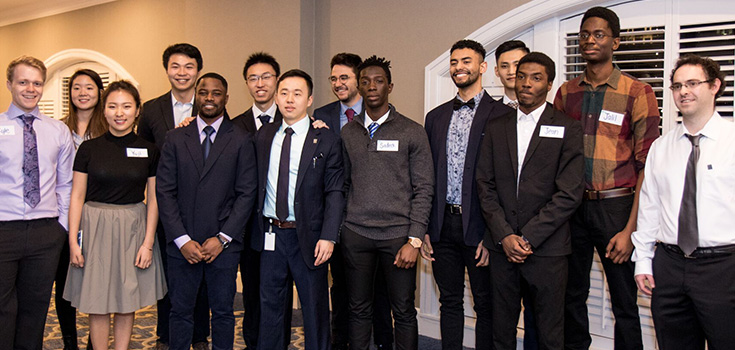Participants en photo de groupe
