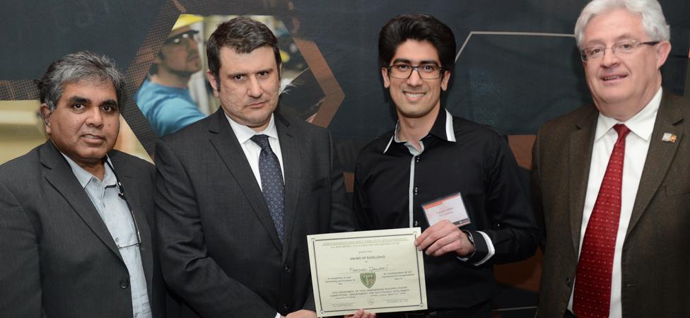 CSCE Enviroment Sustainable Development Award Winner