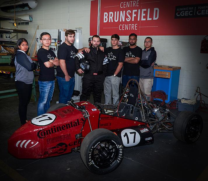 Formula team