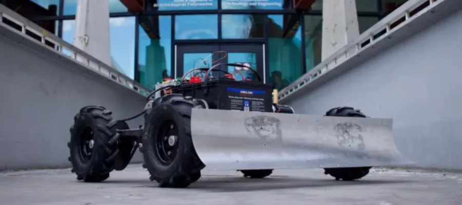 An automatic snowplow