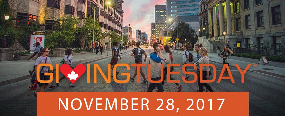 Giving Tuesday - November 28, 2017