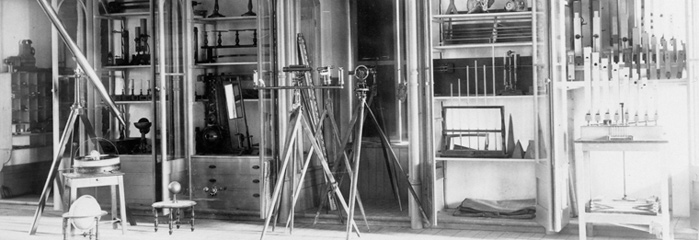 Equipment used in the early days of applied science