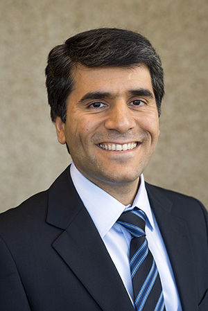 Majid Mohammadian smiling