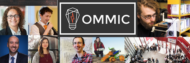 Collage of OMMIC 2017 speakers and activities