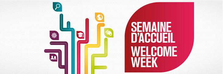 Semaine d'accueil/ Welcome Week