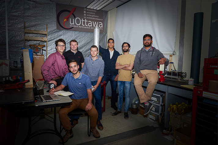 uOttawa Rocketry team