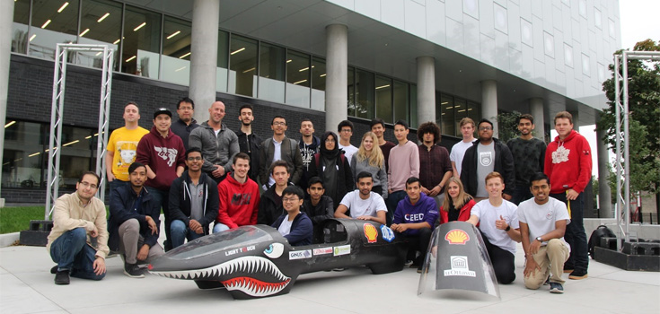 Supermileage Electric 2019 team