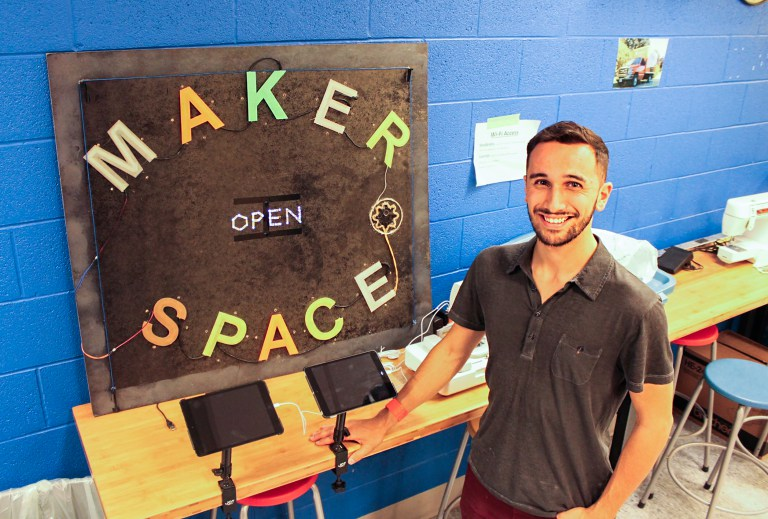 web features makerspace